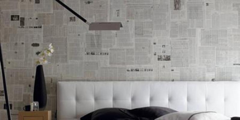 Paso a paso c mo colocar papel pintado en la pared - Como quitar papel pintado de la pared ...