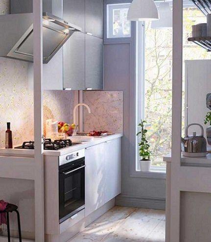 Decoraci n cocinas peque as - Cocinas rectangulares pequenas ...