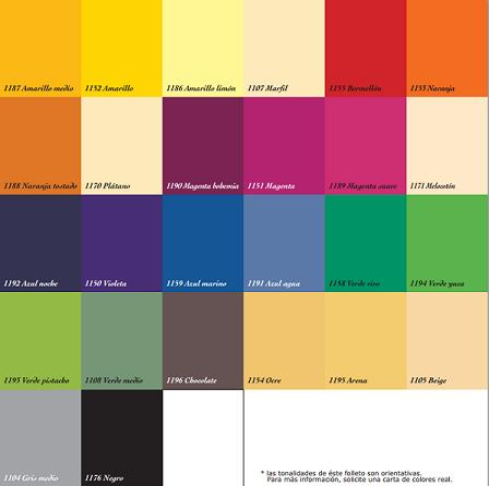Carta de colores titanlux decoraci n for Ver colores de pinturas para casas interiores