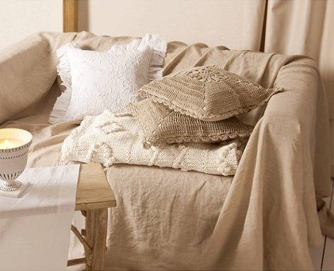El lookbook de zara home para septiembre 2013 decoraci n - Cojines cama zara home ...