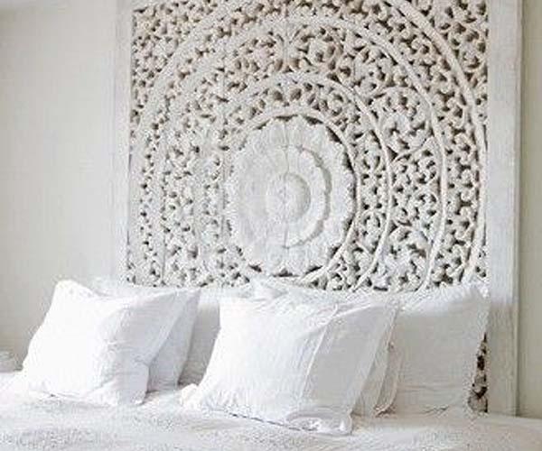 5 ideas de cabeceros diy para la cama - Cabeceros de cama con fotos ...