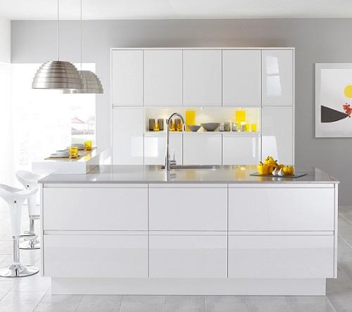Cocinas en blanco los pros y los contras - Cocinas en color blanco ...