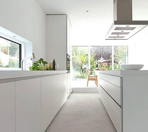 Cocinas en blanco los pros y los contras decoraci n for Cocinas en color blanco