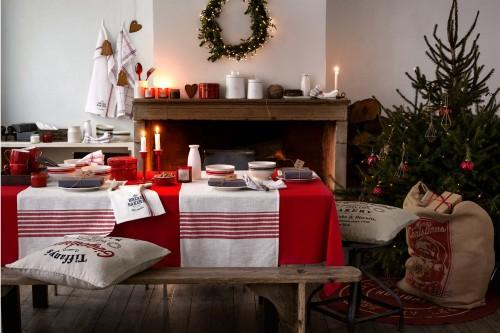 Cortinas De Baño H&M:Catálogo de navidad de H&M decoración invierno 2014 2015