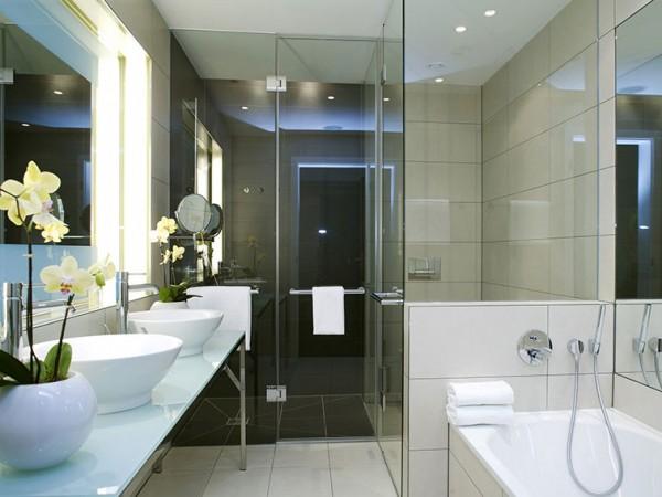 Baño Pequeno Moderno:Baños con estilo moderno