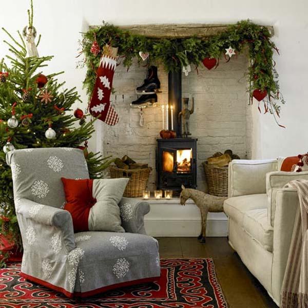 Ideas para la decoraci n navide a 2015 en el hogar - Decoracion navidena para el hogar ...