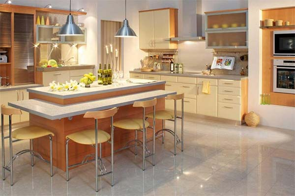Fotos de cocinas con encanto for Barra de comedor