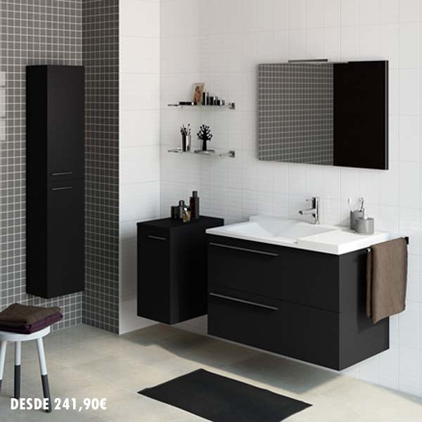 Armarios De Baño Pequenos:Catálogo de lavabos de Leroy Merlín 2015