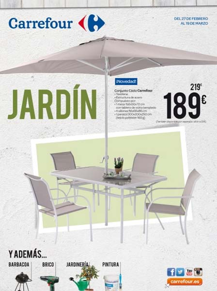 Carrefour meubles de jardin catalogue carrefour mobilier for Carrefour meubles de jardin