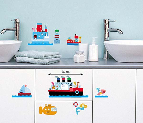 stickers-para-decorar-baño