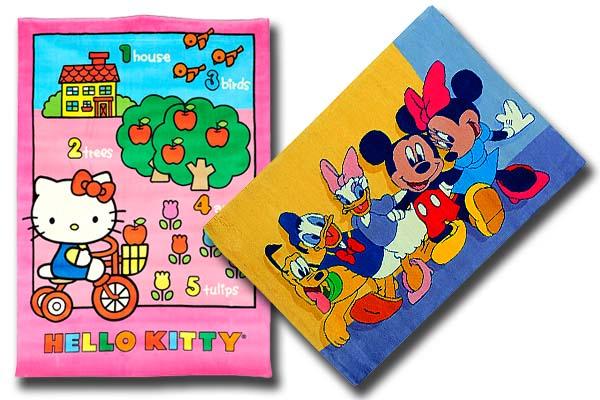 10 alfombras infantiles de leroy merl n baratas decoraci n - Alfombras disney baratas ...