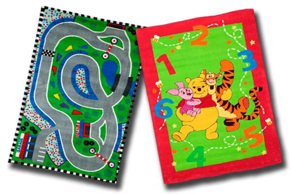 10 alfombras infantiles de leroy merl n baratas decoraci n - Alfombra circuito coches ...
