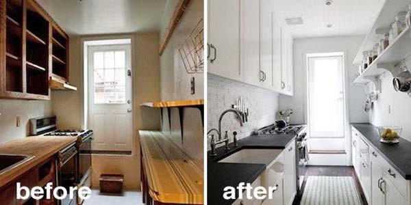 antes y despues de cocinas reformadas