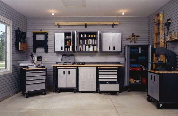 5 Ideas para la decoracin de garajes