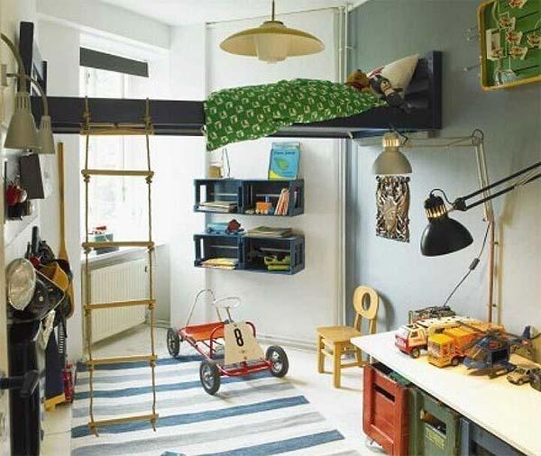 Decoraci n 4 dormitorios infantiles originales - Dormitorios originales ...