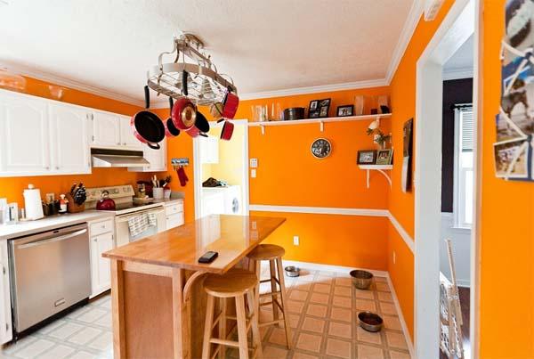 Decoraci n elegir el color para pintar la cocina for Colores para cocinas fotos