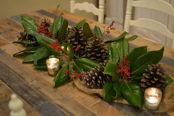 Decoraci n decorar la navidad del hogar con plantas for Decoracion del hogar navidad 2015