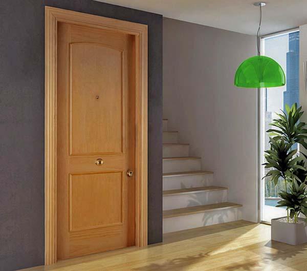 Decoraci n 3 propuestas para combinar puertas y suelos - Combinar color suelo y paredes ...