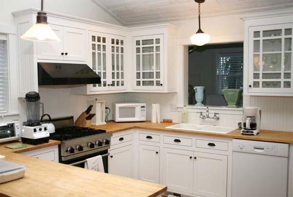 Blanco y madera el t ndem ideal para la cocina decoraci n for Cocinas de madera blanca