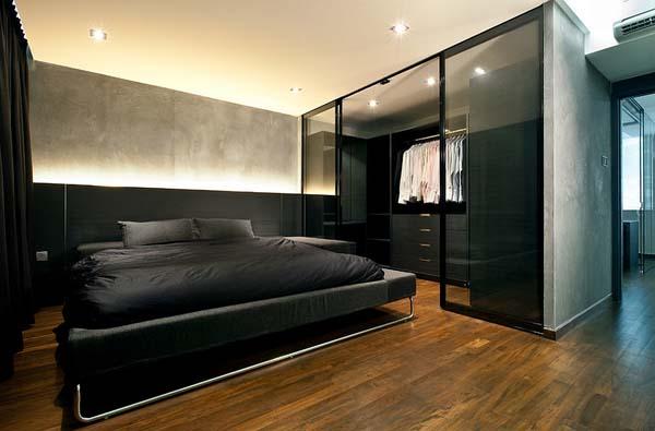 habitacion-masculina-en-tonos-oscuros