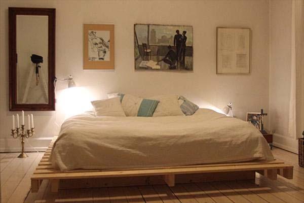 camas elaboradas con palets - Camas Con Palets