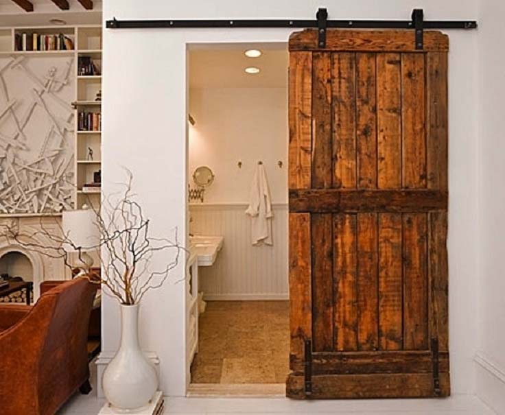 Ideas Para Puertas De Baño:Ideas para baños pequeños