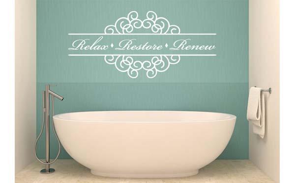 Cambia el aspecto de tu casa con vinilos decorativos decoraci n - Vinilos decorativos bano ...