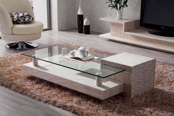Muebles De Marmol : Materiales de tendencia en la decoración