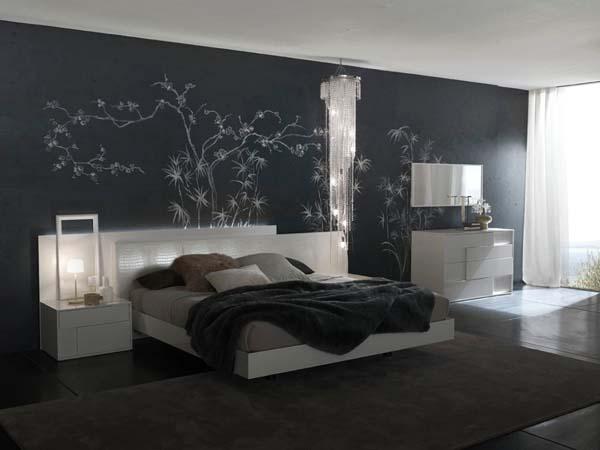 habitacion-en-contraste-de-color-blanco-y-negro