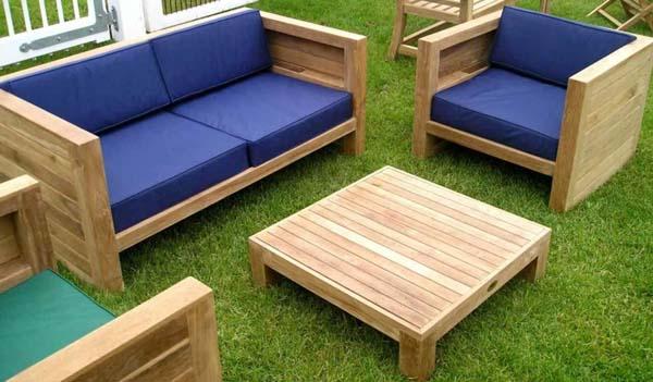 Decora tu jard n con los mejores materiales decoraci n for Muebles para jardin en madera