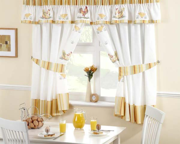 Decoraci n decoraci n del hogar con cortinas y visillos for Cortinas y visillos confeccionados