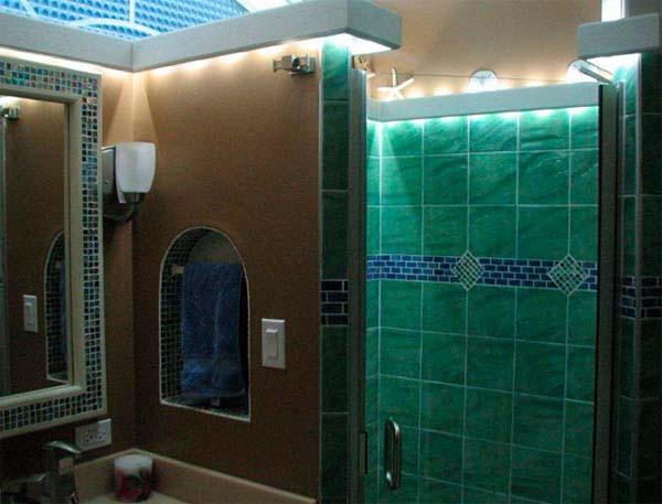 Iluminacion Baño Consejos:Decoración 4 tips para una decorar baños pequeños