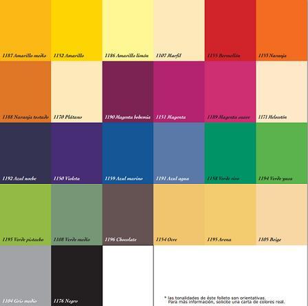 Carta de colores titanlux decoraci n - Nombres de colores de pinturas ...