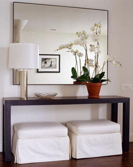 Ideas para la decoraci n de entradas recibidores y halls decoraci n - Decoracion pisos pequenos ikea ...