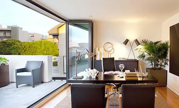 Despachos modernos ideas originales para decorarlos con - Despachos modernos ...