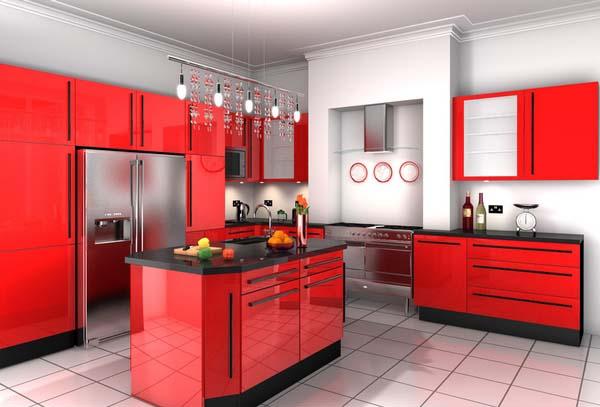 color-rojo-para-decorar-la-cocina