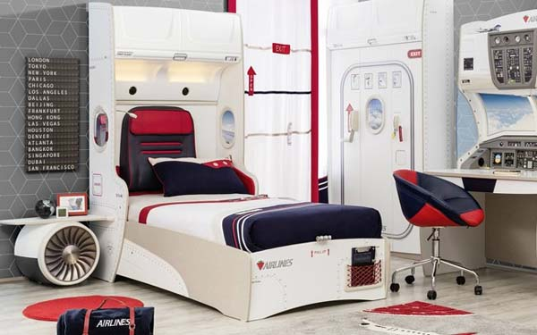 habitacion-infantil-decoracion-avion
