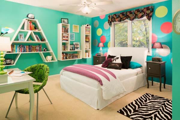 habitacion-infantil-color-turquesa